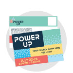 Power Up Custom Postcards