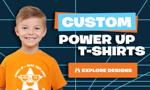 Power Up Custom T-Shirts