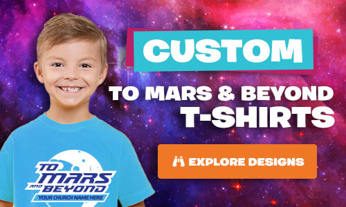 To Mars and Beyond Custom T-Shirts