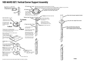 To Mars and Beyond Column Assembly