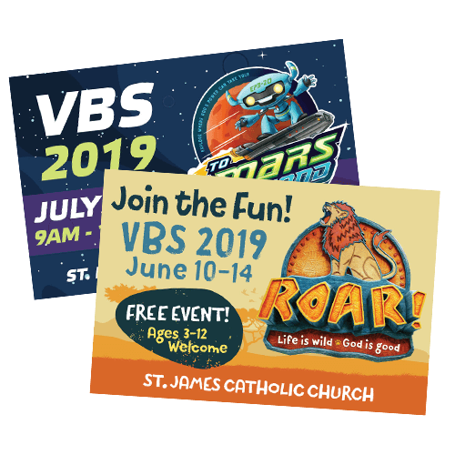 VBS Custom Postcards