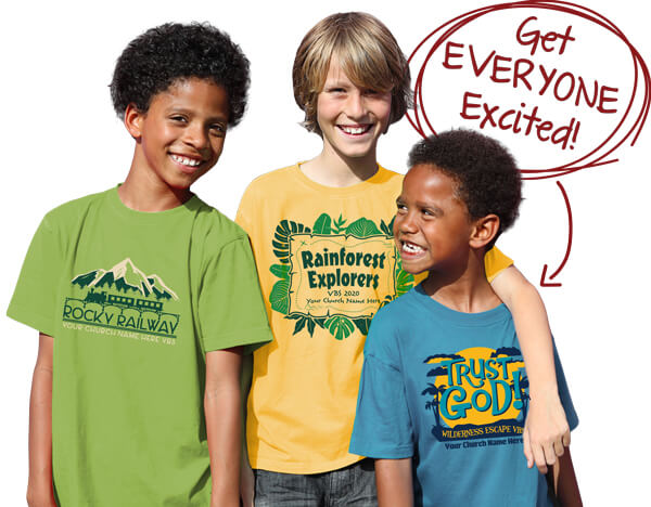 Custom VBS T-Shirts