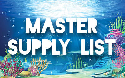 Anchored Master Supply List