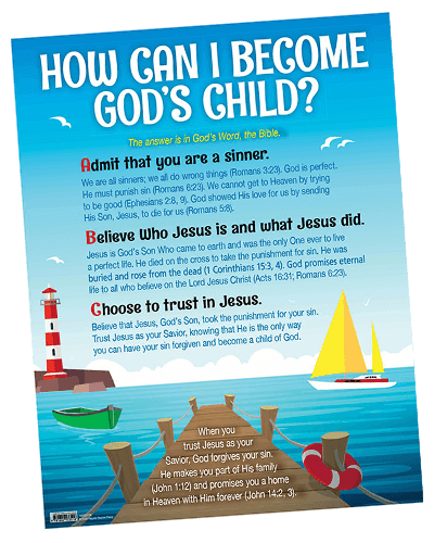 How Can I Become God's Child? Download