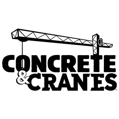 Concrete & Cranes Words Logo 1