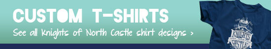 Knights of North Castle Custom VBS T-Shirts