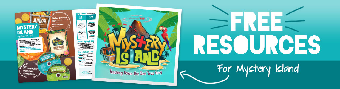 Mystery Island VBS 2020 Free Resources