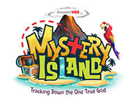 Mystery Island VBS Primary Logo