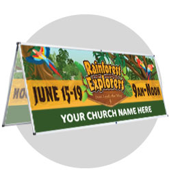 Rainforest Explorers Custom Banners