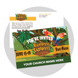 Rainforest Explorers Custom Postcards