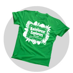 Rainforest Explorers Custom Shirts