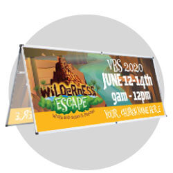 Wilderness Escape Custom Banners