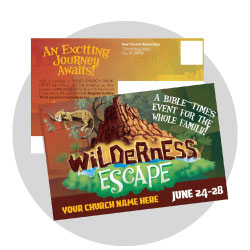 Wilderness Escape Custom Postcards