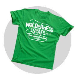 Wilderness Escape Custom Shirts