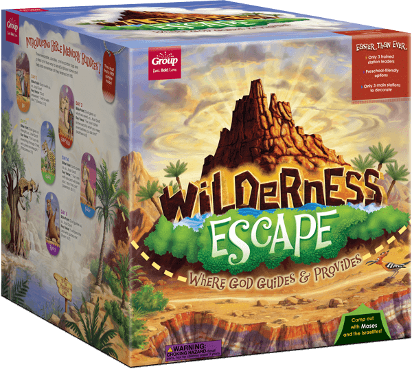 Wilderness Escpe VBS 2019 HLA Starter Kit