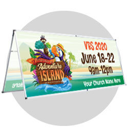 Discovery on Adventure Island Custom Banners