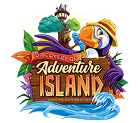 Discovery on Adventure Island VBS 2020 Logo