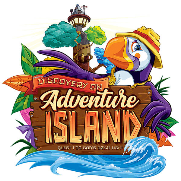 Discovery on Adventure Island Logo