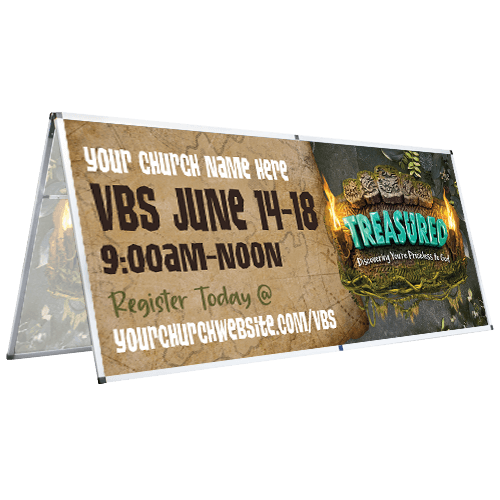 Treasured VBS 2021 Banners