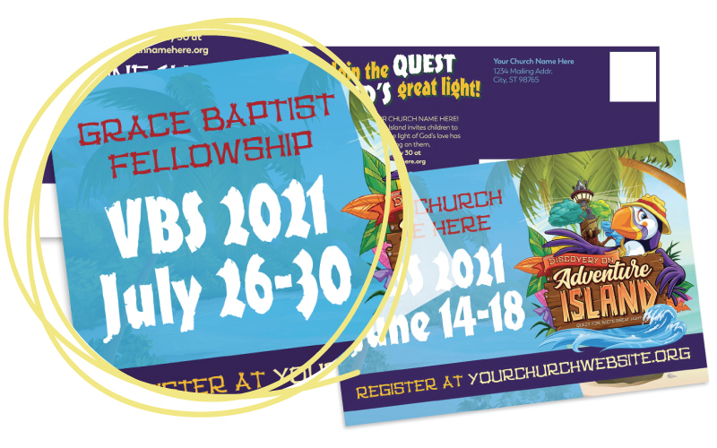 Custom VBS Postcards Customizations