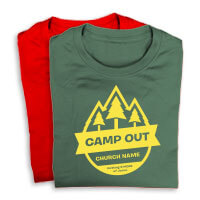 Camp Theme Shirts