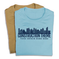 Construction Theme Shirts