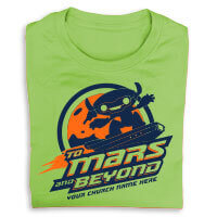 Mars and Beyond Shirts