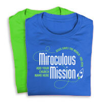 Miraculous Mission Shirts
