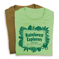 Rainforest Explorers Shirts