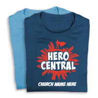 Superhero Theme Shirts