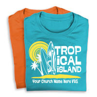 Tropical Island Shirts