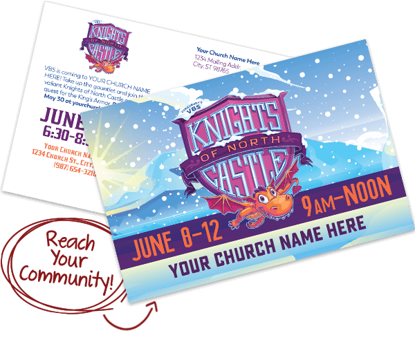 Custom VBS Postcards