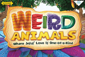 weird animals vbs 2014