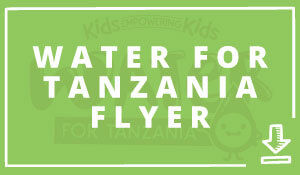 Download Water for Tanzania Flyer